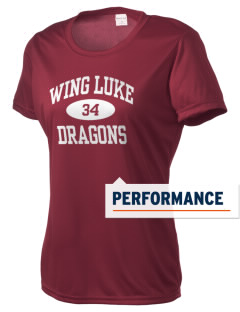 Wing Luke Elementary School Dragons Women's Competitor Performance T-Shirt