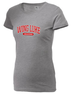 Wing Luke Elementary School Dragons  Russell Women's Campus T-Shirt