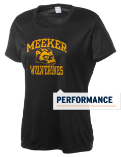 Meeker Middle School Wolverines Women's Competitor Performance T-Shirt