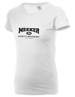 Meeker Middle School Wolverines  Russell Women's Campus T-Shirt