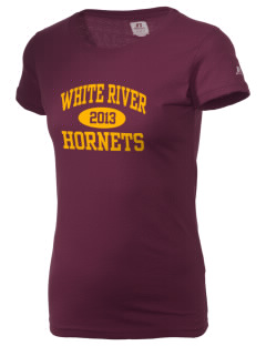 White River High School Hornets  Russell Women's Campus T-Shirt