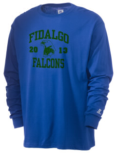 Fidalgo Elementary School Falcons  Russell Men's Long Sleeve T-Shirt