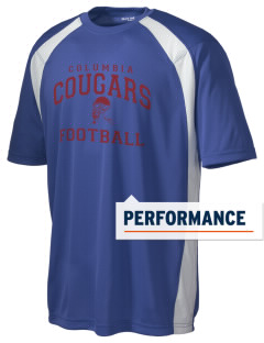 Columbia Elementary School Cougars Men's Dry Zone Colorblock T-Shirt