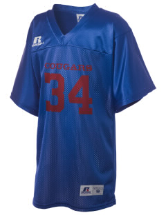 Columbia Elementary School Cougars Russell Kid's Replica Football Jersey