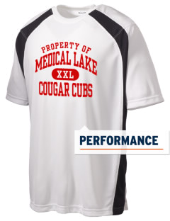Medical Lake Elementary School Cougar Cubs Men's Dry Zone Colorblock T-Shirt