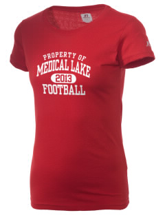 Medical Lake Elementary School Cougar Cubs  Russell Women's Campus T-Shirt