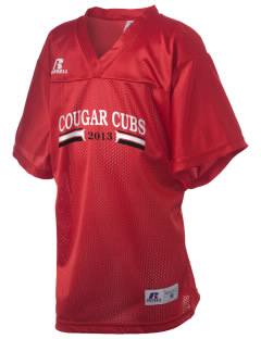 Medical Lake Elementary School Cougar Cubs Russell Kid's Replica Football Jersey