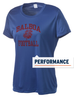 Balboa Elementary School Bulldogs Women's Competitor Performance T-Shirt