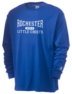 Rochester Primary School Little Chiefs  Russell Men's Long Sleeve T-Shirt