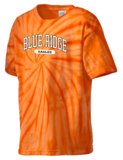 Blue Ridge Elementary School Eagles Kid's Tie-Dye T-Shirt