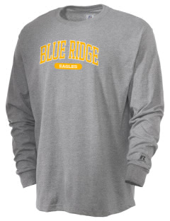 Blue Ridge Elementary School Eagles  Russell Men's Long Sleeve T-Shirt