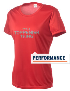 Toppenish High School Wildcats Women's Competitor Performance T-Shirt