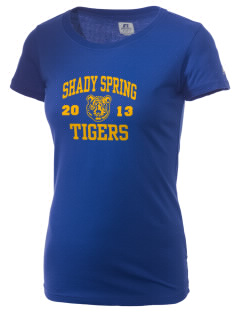 Shady Spring Elementary School Tigers  Russell Women's Campus T-Shirt