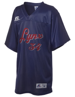 North Linn Elementary School Lynx Russell Kid's Replica Football Jersey