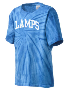 University Baptist Montessori Lamps Kid's Tie-Dye T-Shirt