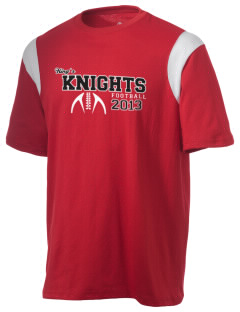 King's Junior High School Knights Holloway Men's Rush T-Shirt