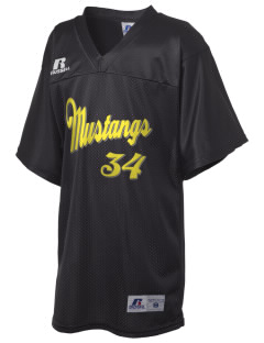 West Lake Junior High School Mustangs Russell Kid's Replica Football Jersey