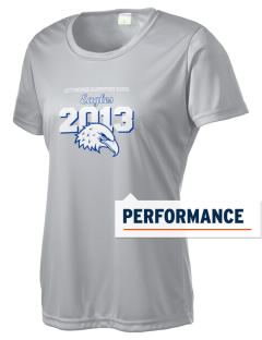 Cottonwood Elementary School Eagles Women's Competitor Performance T-Shirt