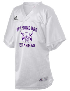Diamond Bar High School Brahmas Russell Kid's Replica Football Jersey