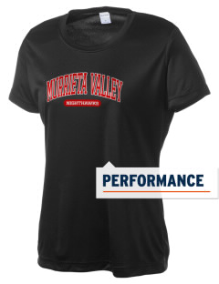 Murrieta Valley High School Nighthawks Women's Competitor Performance T-Shirt