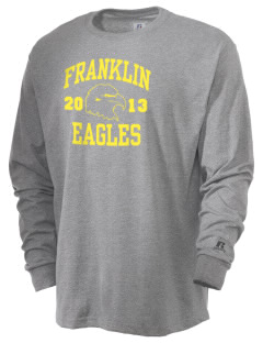 Franklin Intermediate School Eagles  Russell Men's Long Sleeve T-Shirt