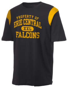 Erie Central High School Falcons Holloway Men's Rush T-Shirt