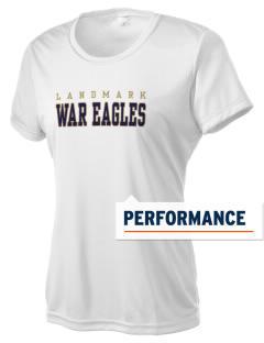 Landmark Christian School Eagles Women's Competitor Performance T-Shirt