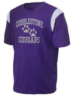 Cobblestone Elementary School Cougars Holloway Men's Rush T-Shirt