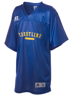 Crestline School Challengers Russell Kid's Replica Football Jersey