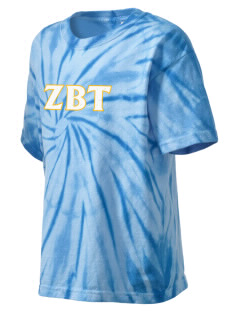 Zeta Beta Tau Kid's Tie-Dye T-Shirt