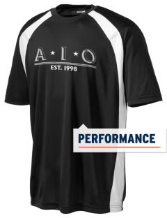 Alpha Iota Omicron Men's Dry Zone Colorblock T-Shirt