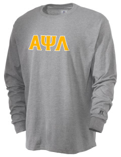 Alpha Psi Lambda  Russell Men's Long Sleeve T-Shirt
