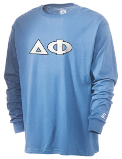 Delta Phi  Russell Men's Long Sleeve T-Shirt
