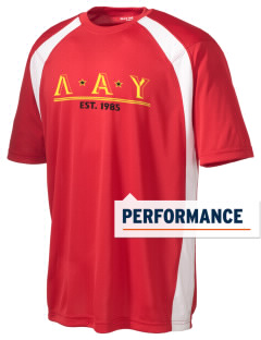 Lambda Alpha Upsilon Men's Dry Zone Colorblock T-Shirt