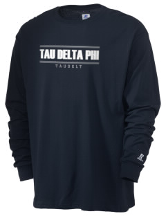 Tau Delta Phi  Russell Men's Long Sleeve T-Shirt