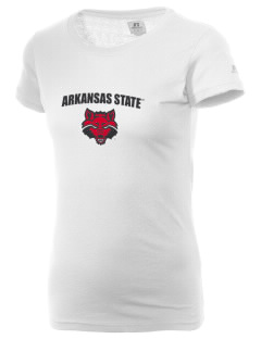 Arkansas State University Red Wolves  Russell Women's Campus T-Shirt