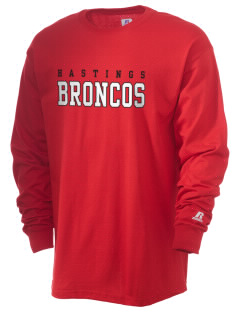 Hastings College Broncos  Russell Men's Long Sleeve T-Shirt