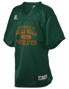 Walla Walla University Wolves Russell Kid's Replica Football Jersey