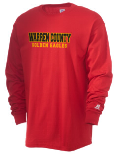 Warren County Community College Golden Eagles  Russell Men's Long Sleeve T-Shirt