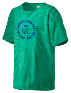 Central Carolina Community College  Cougars Kid's Tie-Dye T-Shirt