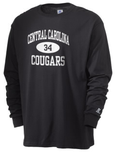 Central Carolina Community College  Cougars  Russell Men's Long Sleeve T-Shirt