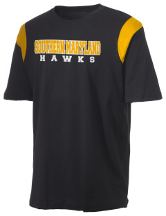 College of Southern Maryland Hawks Holloway Men's Rush T-Shirt