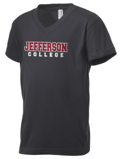 Jefferson Medical College College Kid's V-Neck Jersey T-Shirt