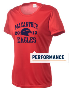 Douglas MacArthur Elementary School Eagles Women's Competitor Performance T-Shirt