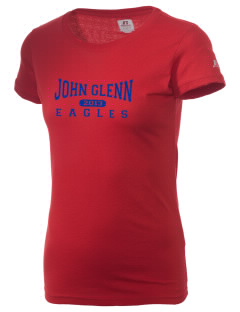 John Glenn High School Eagles  Russell Women's Campus T-Shirt