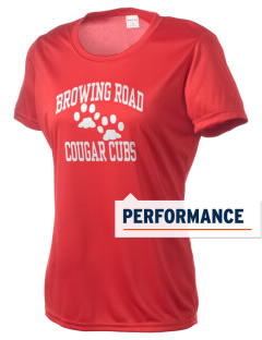 Browning Road Elementary School Panthers Women's Competitor Performance T-Shirt
