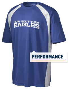 Santa Ynez Valley Christian Academy Eagles Men's Dry Zone Colorblock T-Shirt