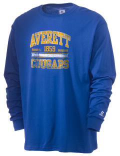 Averett University Cougars  Russell Men's Long Sleeve T-Shirt