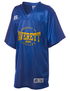 Averett University Cougars Russell Kid's Replica Football Jersey