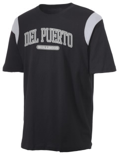Del Puerto High School Bulldogs Holloway Men's Rush T-Shirt